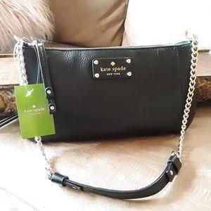 NWT Kate Spade NY Adela Shoulder Bag  BLK